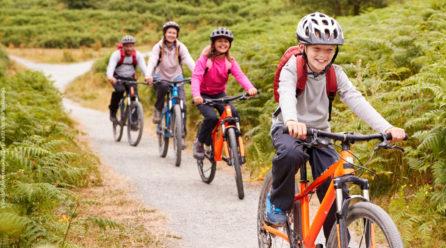 Deshalb ist regelmäßiges Radfahren mit Kindern so wertvoll