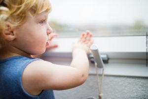 Kindersichere Fenstergriffe, gerade bei Kindern mit ADHS unbedingt erforderlich