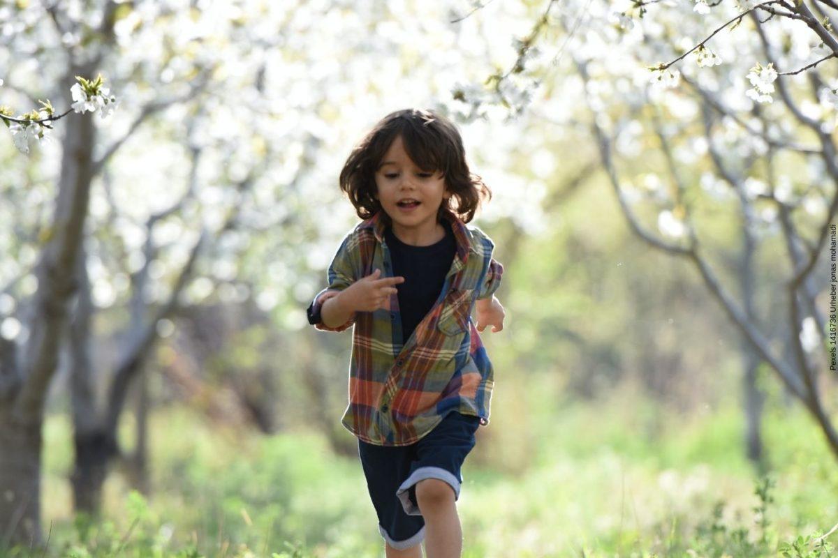 So schaffen Sie eine Umgebung in der Kinder im Garten relaxen können